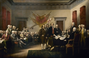 Image of Signing of Declaration of Independence