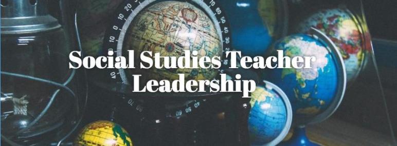Social Studies teacher Leadership header image