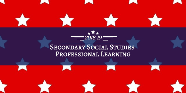 Copy of Secondary SS Professional Leanring