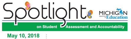 Image of MDE Spotlight Newsletter Headers